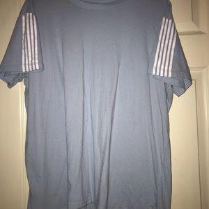 A simple blue shirt